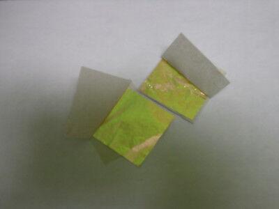 BLATTGOLD 45x45 mm  K 24 zum Vergolden G 10 Blatt