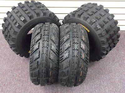 (21x7-10 , 20x10-9 AMBUSH ATV TIRES (4 TIRES) 1999-2014 HONDA TRX 400EX)