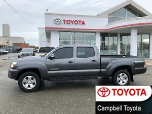 2015 Toyota Tacoma TRD SPORT--DOUBLE CAB--HEATED LEATHER--LOW KM