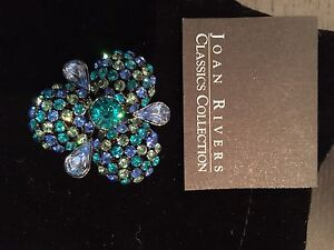 Joan Rivers Classics Collection Pin Brooch Vintage