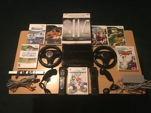 Wii bundle Wii sports and Mario kart 7 games