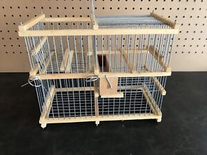 Bird trap with repeating action