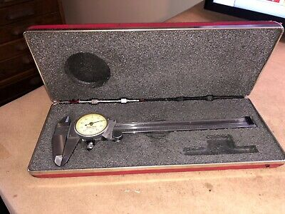 Starrett No. 120 Dial Caliper 0-6 .001 Very Good