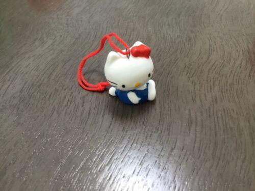 VINTAGE rare 1976 SANRIO Hello Kitty mini wiggle head mascot New