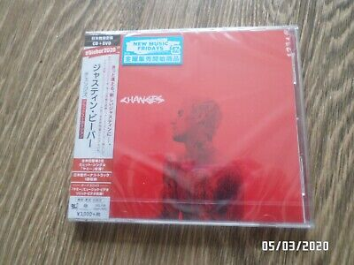 Justin Bieber Changes Japanese Deluxe Edition CD DVD & Poster