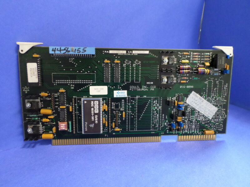 GOULD CCD PGH CIRUCIT BOARD CONTROL ASSEMBLY 100-0397