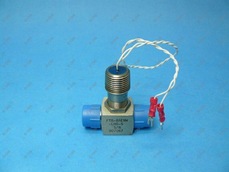 """EG&G FT8-8AENW-LHG-5 Liquid Flow Meter 1/2"""" NPT 3/4-7.5 GPM RF New"""