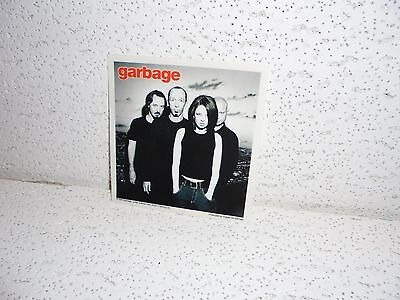 Vintage Garbage Glossy Sticker 1998