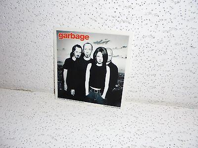 Vintage Garbage Glossy Sticker 1998