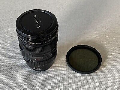 Canon EF 24-105mm f/4 L IS USM Lens with Nd Filter