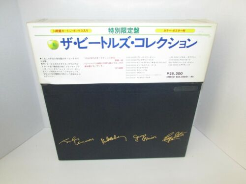 MINT The Beatles Collection Japanese Boxed Set 13 LPs + Poster EAS 50031-44
