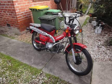 Honda CT110 Postie Bike 2000 Model