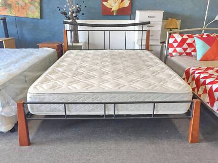 TODAY DELIVERY MODERN Queen bed & COMFORTABLE mattress SALE NOW