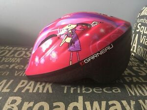 Kid's Garneau bike helmet