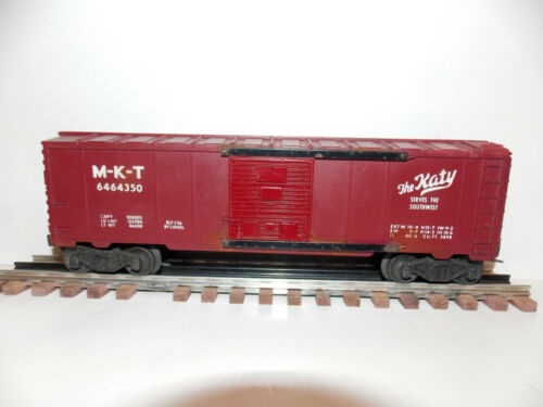 Lionel 6464-350 Vintage O Missouri-Kansas-Texas The Katy Boxcar Type IIB M-K-T