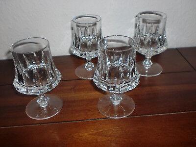 Nachtmann Lady - 4 Cognacgläser - Kristallglas - Cognacglas - Weinbrandglas Cognac Glas