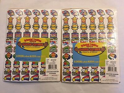 Oriental Trading Company Hands on Fun Classroom Reward Stickers Teacher Supplies (Hands On Trade)