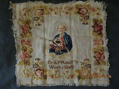 Needlework Labels DOGS in Early Folk Art