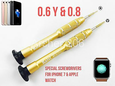 iPhone 7 Screwdriver Y 0.6mm 0.8 Repair tool apple watch Pentalobe opening tools
