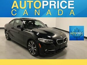 2014 BMW 228i MOONROOF|NAVIGATION|LEATHER|ONE OWNER |CLEAN CA...