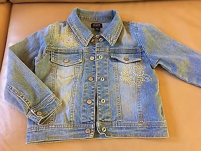 The Childrens Place GIRLS DENIM JEAN JACKET Size S 5/6
