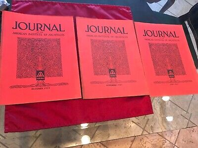 (Three Issues) THE JOURNAL OF THE AMERICAN INSTITUTE OF