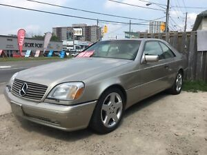Mercedes rare S-class 2 door Coupe mint low km cash or trade