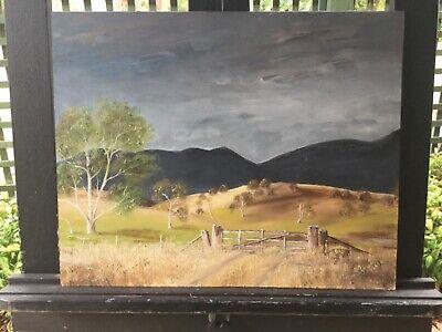 Fuller Malerei (Ronald J Fuller Landscape Framed Oil Painting )