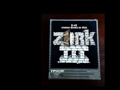 ZORK III (3): THE DUNGEON MASTER  Complete   400  800  Infocom (1984)  TESTED