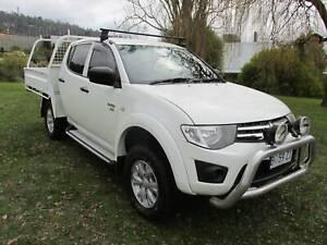 2011 Mitsubishi Triton GLX Manual Ute South Launceston Launceston Area Preview