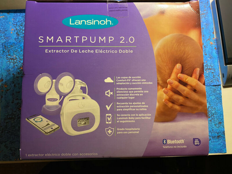 Lansinoh SmartPump 2.0 Double Electric Breast Pump - NEW - SEALED