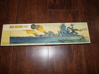 Vintage HMS NELSON 600th Scale Model Kit Series 4