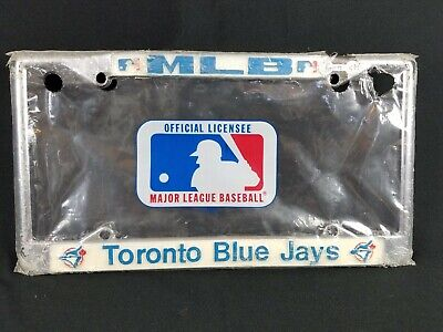 Toronto Blue Jays MLB Baseball 80s Vintage License Plate Metal Frame/Cover
