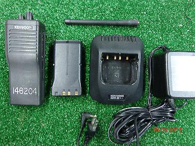 Kenwood Tk290 Tk-290 Vhf 146-174 160ch 5watt Radio W Rapid Charger Antenna C