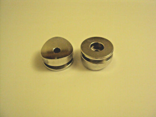 x 2 The Custom Saber Shop Machined button for Covertec clip wheel knob