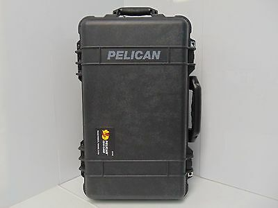 Pelican 1510 Case with Padded Dividers (Camera, Equipment, Multi-Purpose) -Black