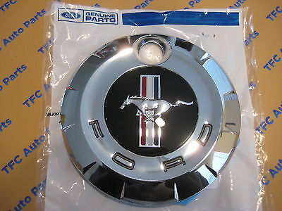 Ford Mustang Rear Trunk Gas Cap Emblem Cover Deck Lid New Genuine OEM  -
