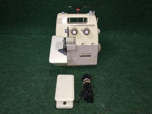 Bernina Bernette 203 Serger Sewing Machine with Foot Controller & Accessories
