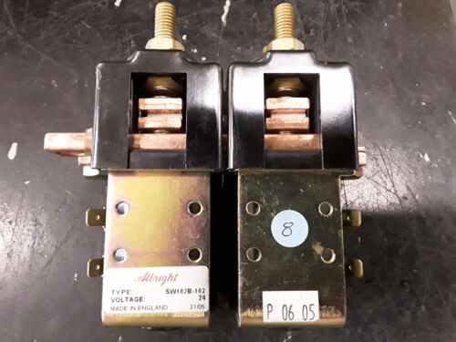 Curtis Albright SW182B-102 Contactor NOS