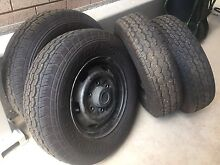 Light truck tyres and rims Dover Gardens Marion Area Preview