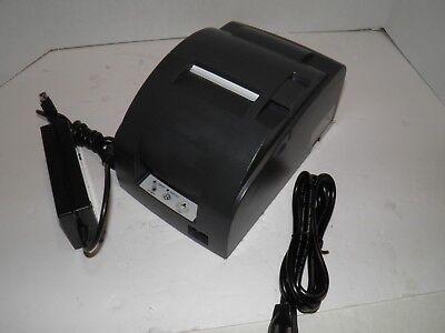 Epson Tm-u220b M188b Dot Matrix Kitchen Bar Pos Receipt Printer Serial W Power
