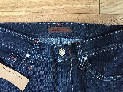 JAMES JEANS Cured By Seun Boot Cut HECTOR Jeans Size 25 New Free Uk P&P