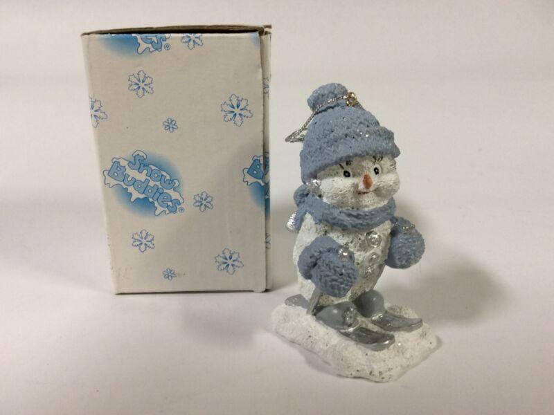 Encore Snow Buddies  1999 The Skier  Christmas Ornament In Box