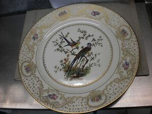 Zierteller / Platzteller Rosenthal, Ivory,Paradiesvogel,alte Marke,Teller,Vogel