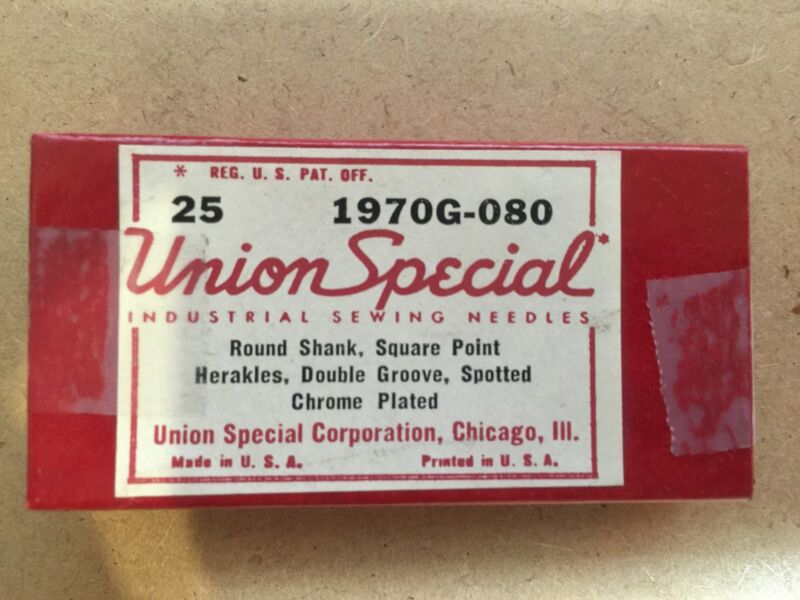 Union Special 1970G-080, Sewing Machine Needles (25 needles)