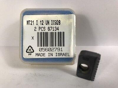Iscar Mt21 I 12 Un New Carbide Threading Inserts Grade Ic928 1pc Aq