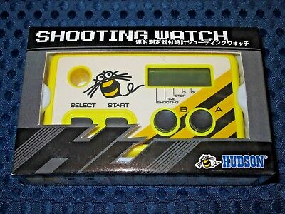 Hudson Shooting Watch Limited Revised ver G&W Game Rapid-fire counter JAPAN F/S