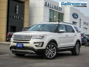 2017 Ford Explorer PLATINUM w/SECOND ROW CAPTAINS CHAIRS
