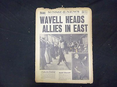 1942 January 4 New York Daily News   Wavell Heads Allies In East   Np 2103