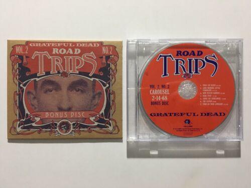 Grateful Dead Road Trips Vol 2 No 2 Carousel 2/14/68 Bonus Disc 1-CD NW Tour OOP - $149.00